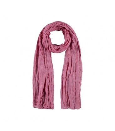 Langwerpige rood met witte zachte sjaal van katoen met viscose