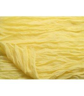 Dunne gele sjaal